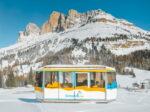 L'ultima neve da prima classe sulle Dolomiti